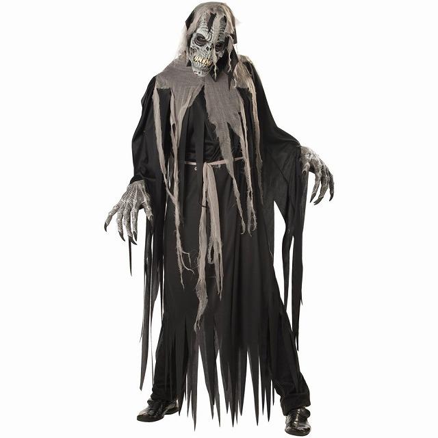 地下聖堂の住人 死神 ホラー 衣装、コスチューム 大人男性用