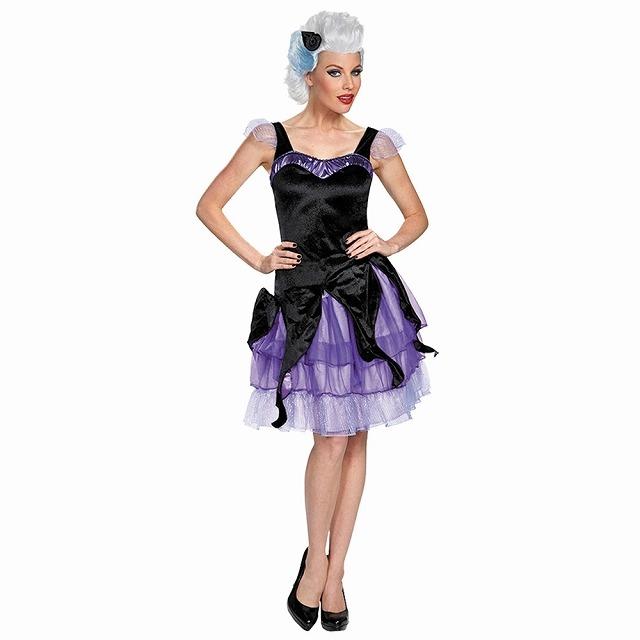 アースラ 衣装、コスチューム 大人女性用 リトルマーメイド ディズニー URSULA DELUXE