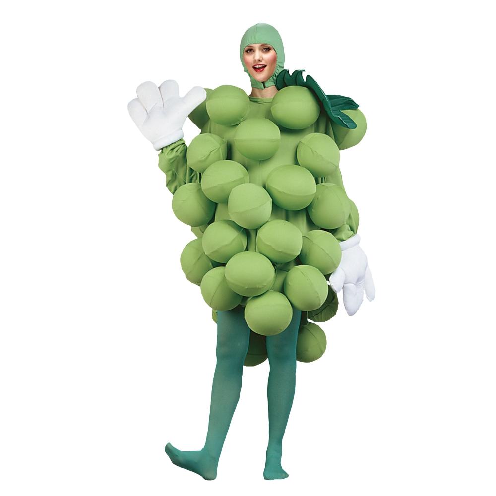 マスカット コスチューム、着ぐるみ 大人男性用 ブドウ 果物 宴会 忘年会