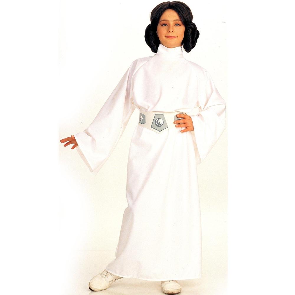 スターウォーズ レイア姫 衣装、コスチューム 子供女性用 Star Wars コスプレ