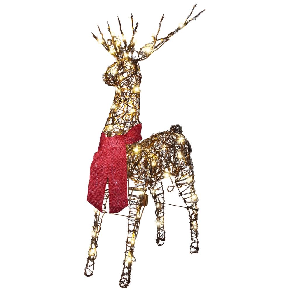 トナカイ クリスマス デコレーション STARRY NIGHT GRAPEVINE DEER