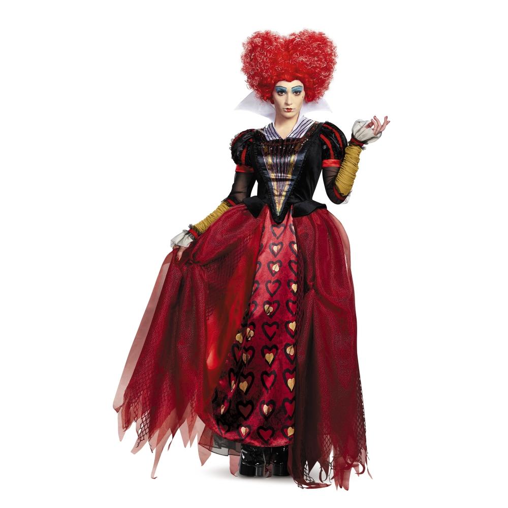 赤の女王 衣装、コスチューム 大人女性用 Deluxe アリス・イン・ワンダーランド ディズニー ハロウィン