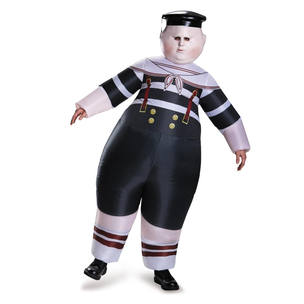 トウィードルディー 衣装、コスチューム 大人男性用 アリス・イン・ワンダーランド ディズニー ハロウィン コスプレ
