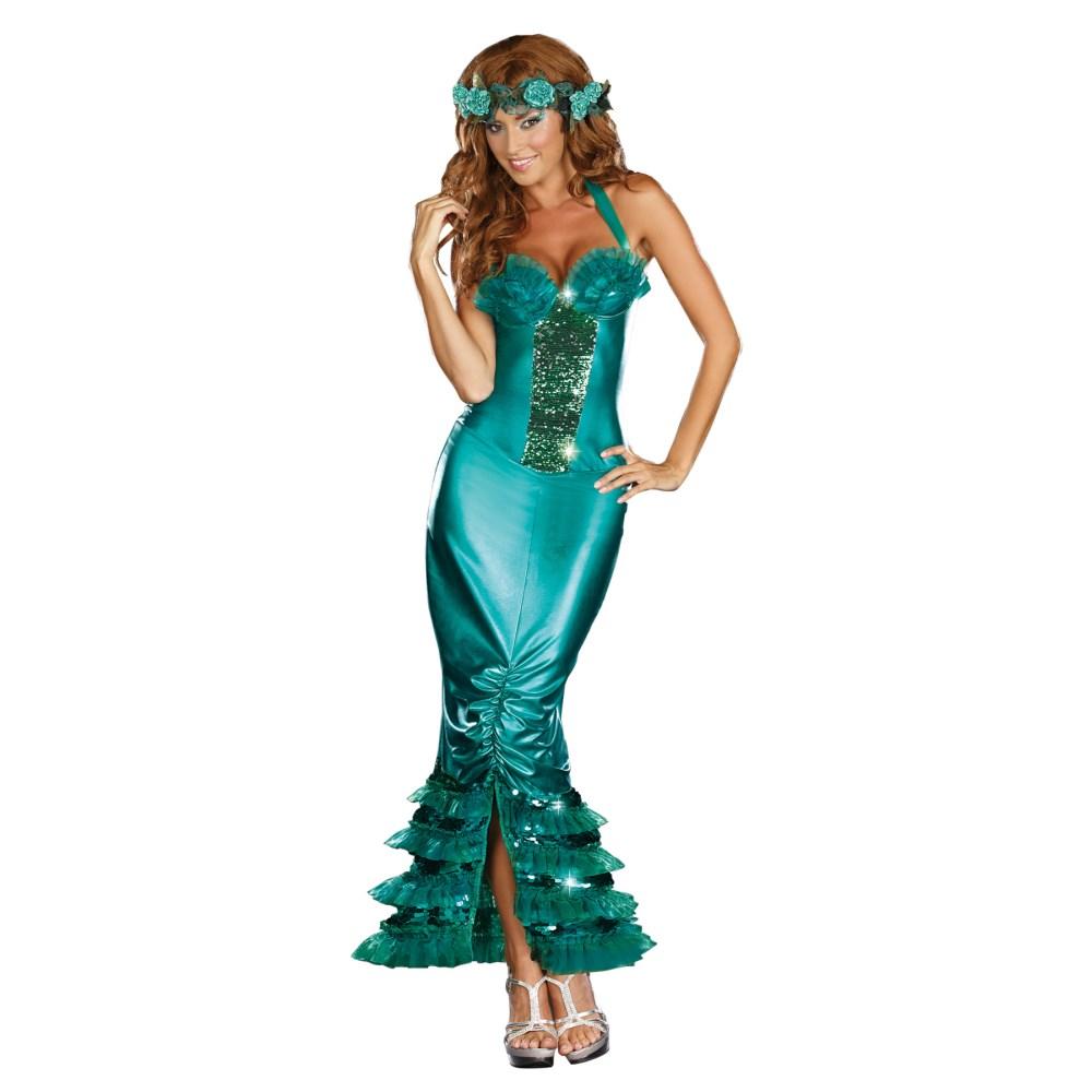 人魚 大人女性用コスチューム ハロウィン 仮装 SEA SIREN