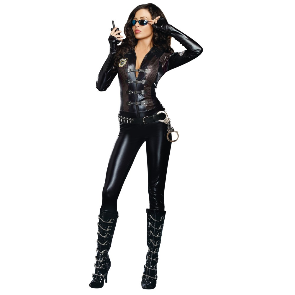 SWAT 大人女性用コスチューム ハロウィン 仮装 SPECIAL OPS コスプレ