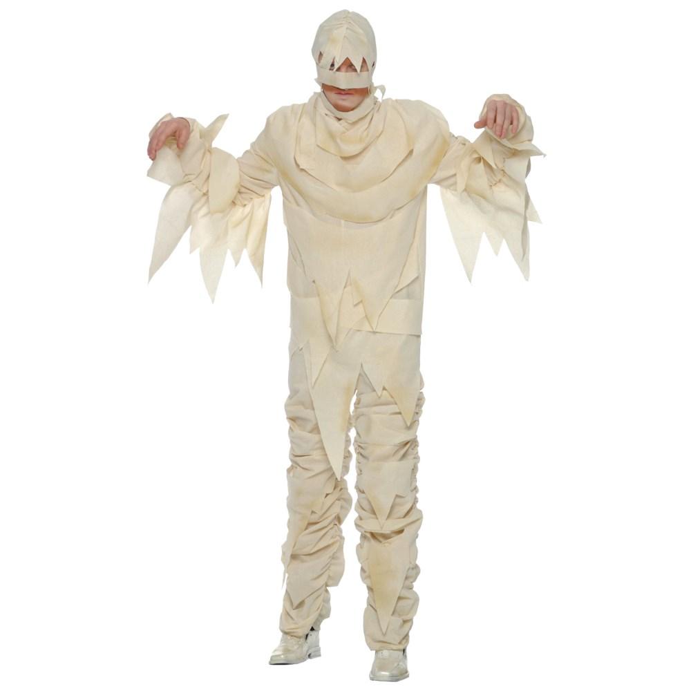 ミイラ 衣装、コスチューム 大人男性用 ガーゼ