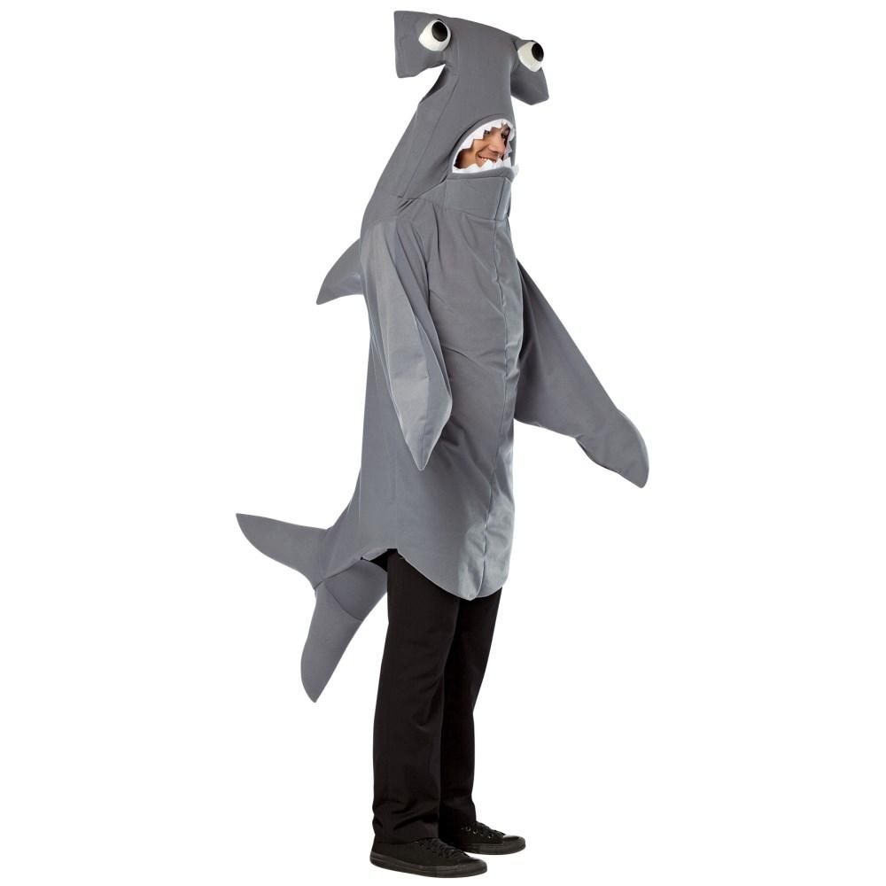 ハンマーシャーク 衣装、コスチューム 大人男性用 サメ