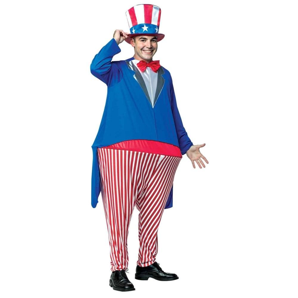 アンクル・サム 衣装、コスチューム フープつき アメリカ