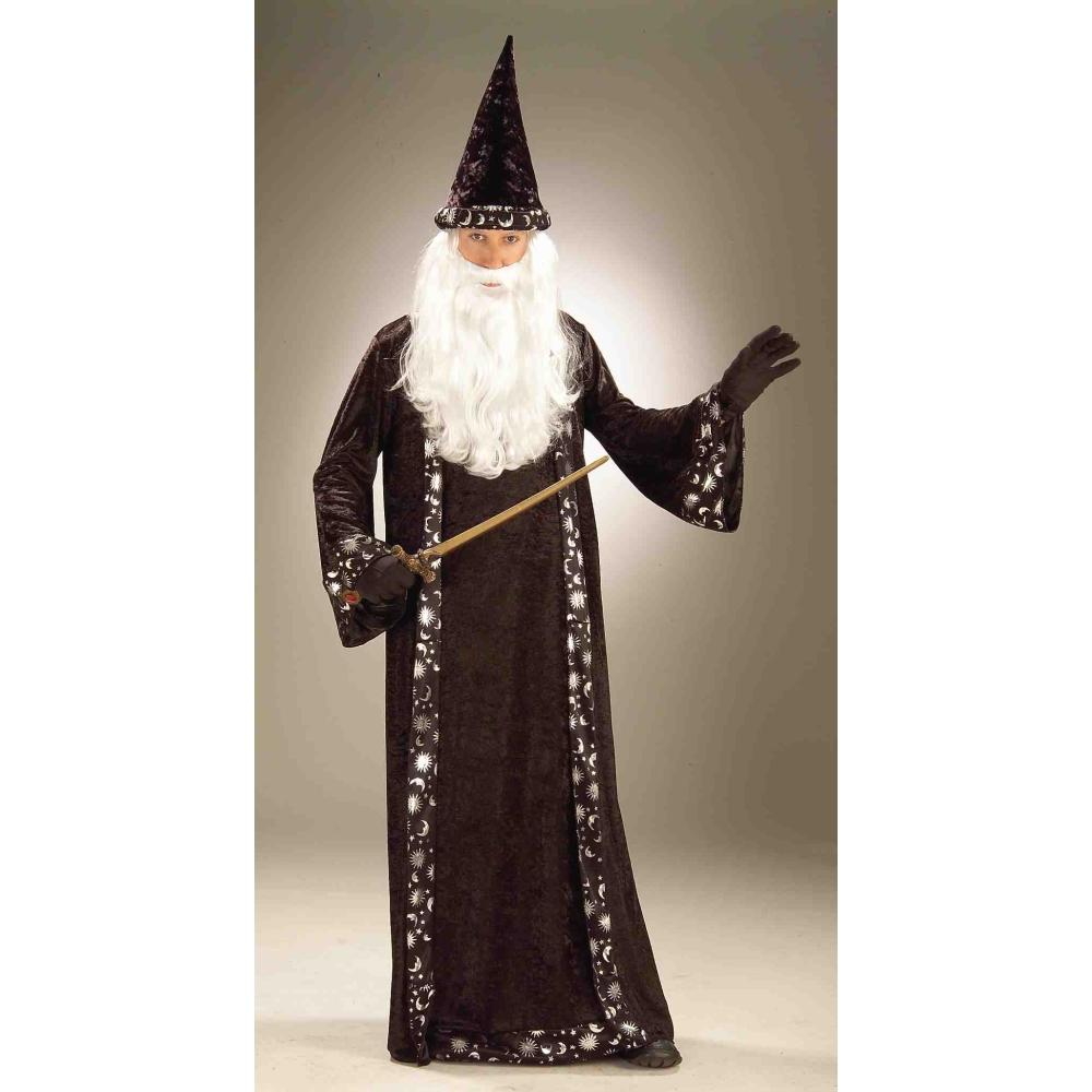 魔法使い 天体柄ローブ コスチューム 大人男性用 Oh Mr.Wizard コスプレ