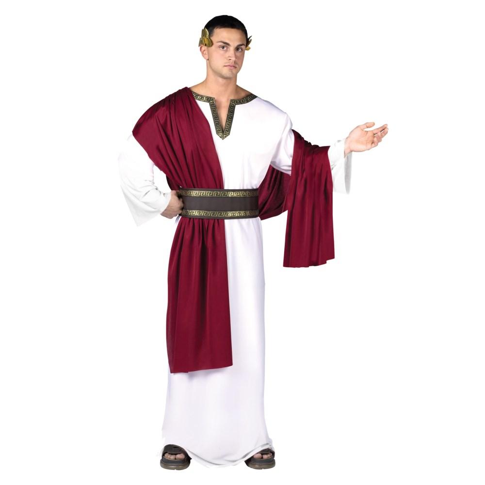 ローマ カエサル 衣装、コスチューム Deluxe Caesar 大人男性用 コスプレ