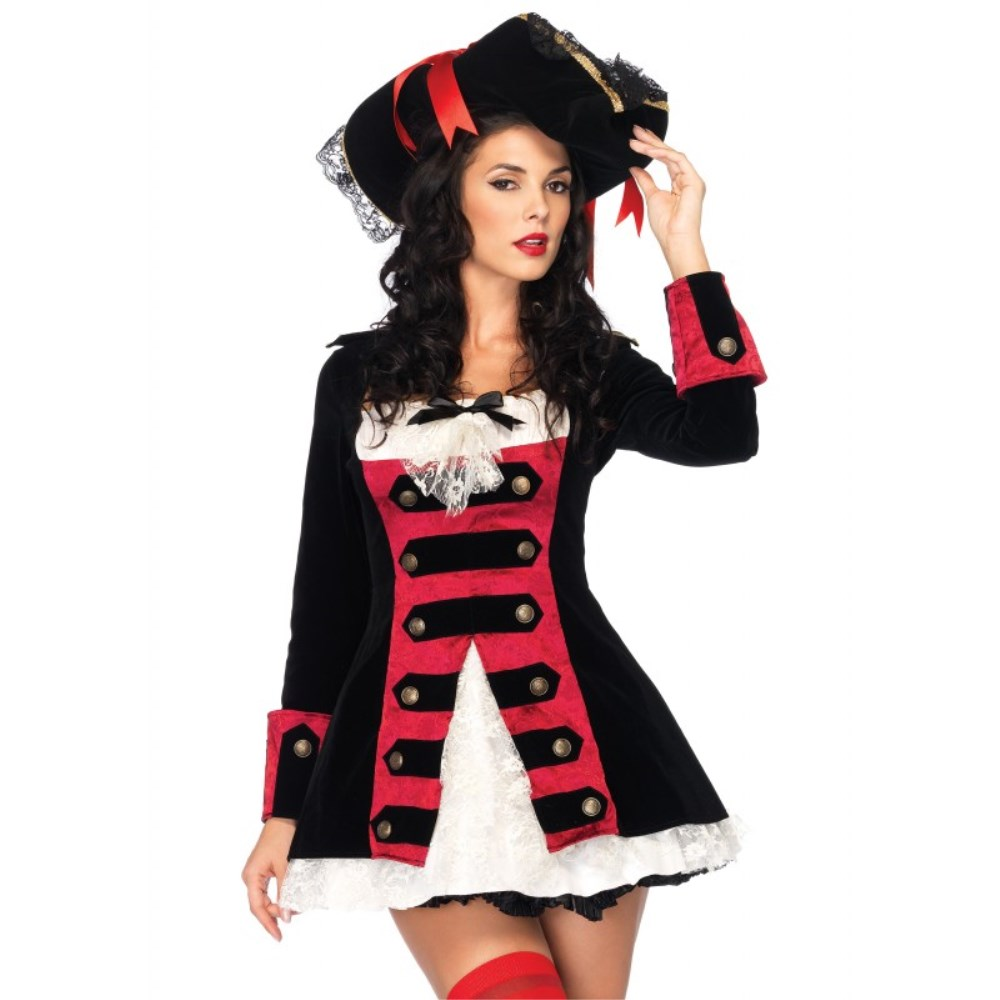 海賊 コスチューム 大人女性用 Charming Pirate Captain