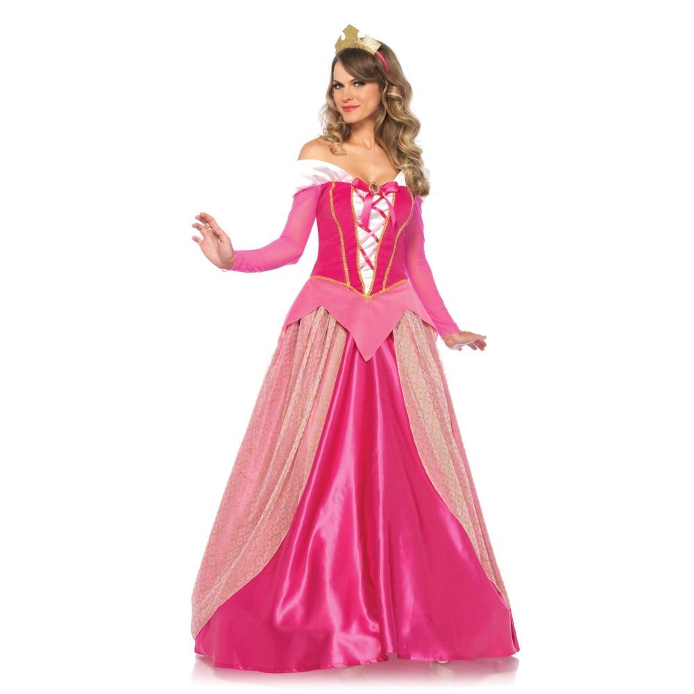 オーロラ姫風 コスチューム 「眠れる森の美女」 大人女性用 2 PC. Princess Aurora