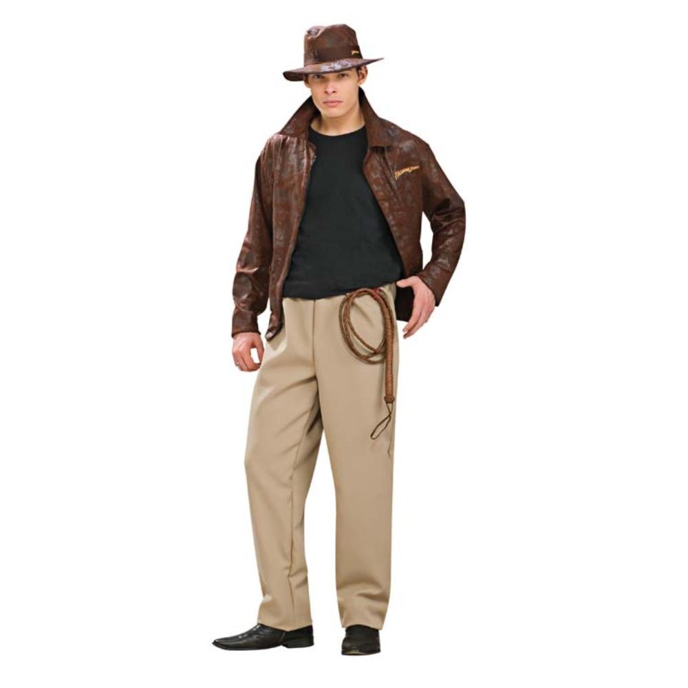 インディージョーンズ DLX コスチューム、コスプレ衣装 大人男性用