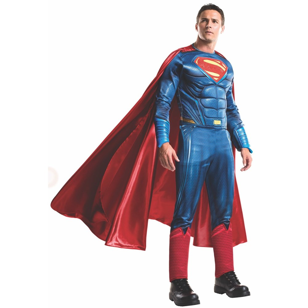 スーパーマン ハイクオリティ 衣装、コスチューム 大人男性用