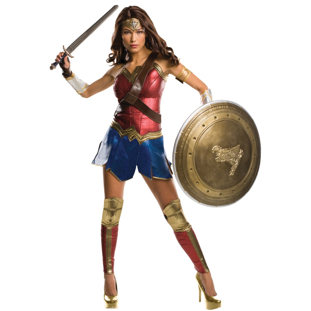 ワンダーウーマン 衣装、コスチューム 大人女性用 バットマンVSスーパーマン ハイクオリティ