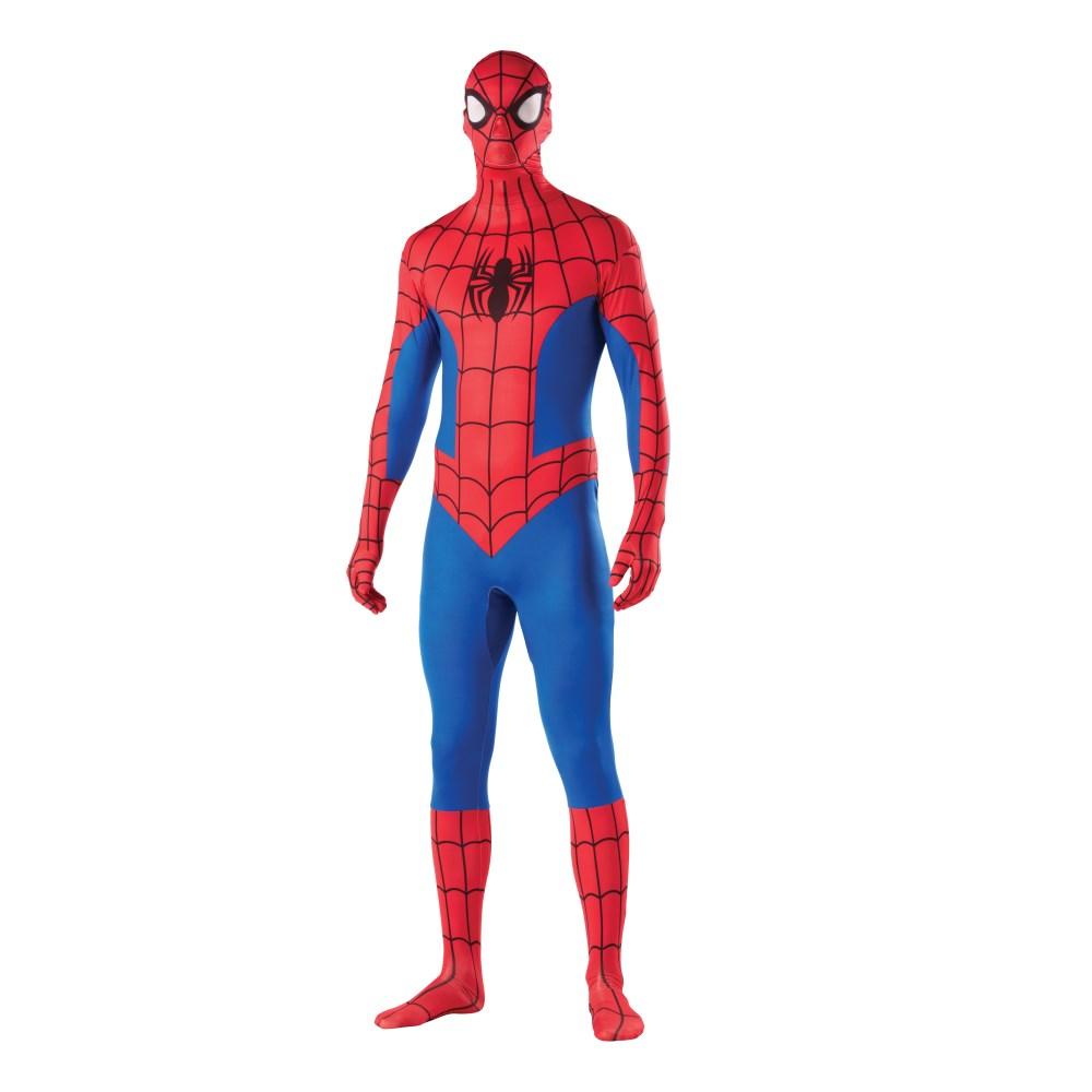 スパイダーマン スキンスーツ 衣装、コスチューム 大人男性用 コスプレ
