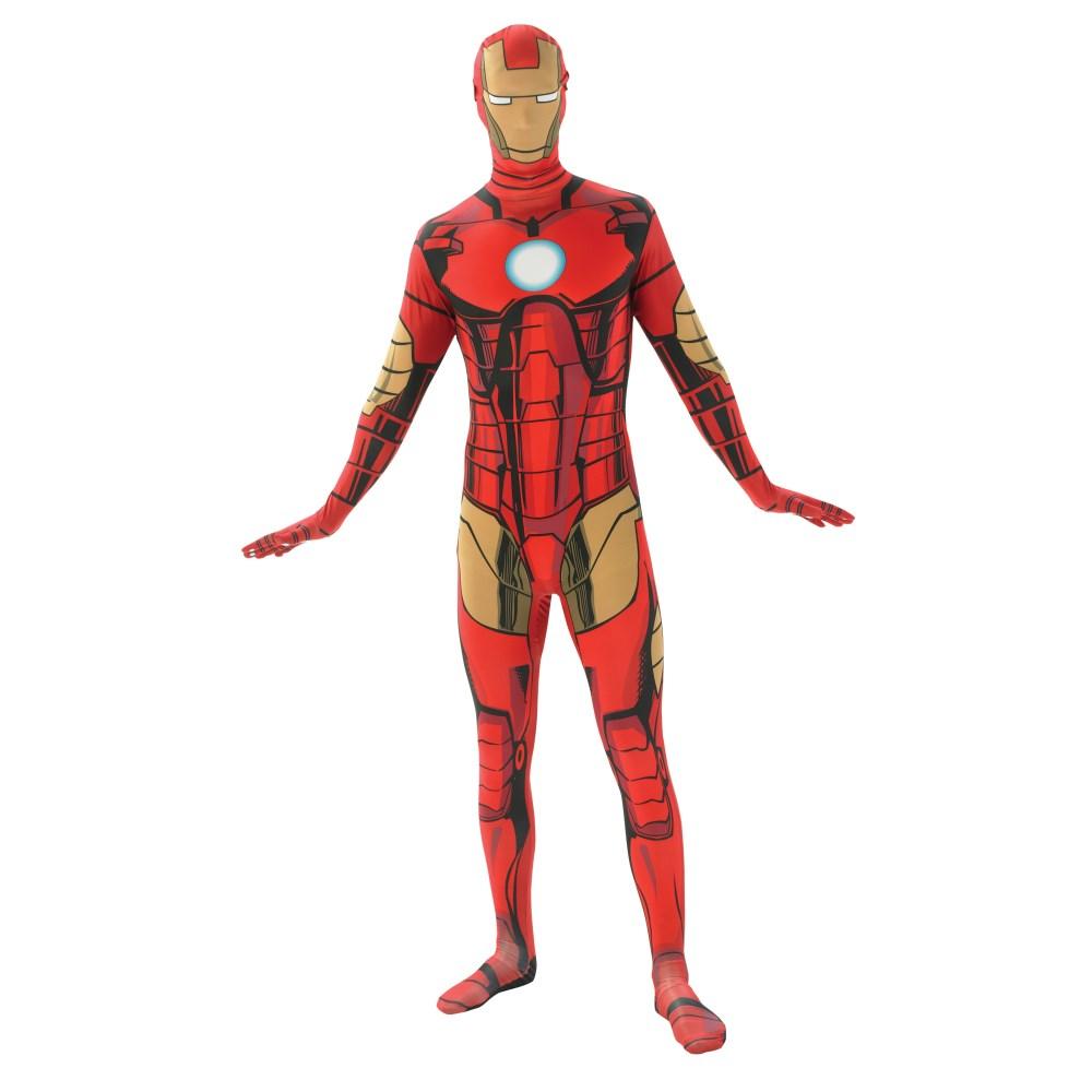 アイアンマン スキンスーツ 衣装、コスチューム 大人男性用 コスプレ