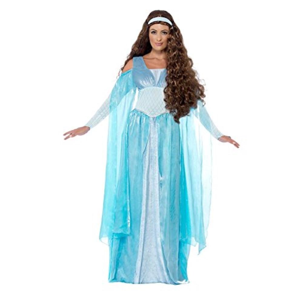 中世の乙女 衣装、コスチューム 大人女性用 ロングドレス