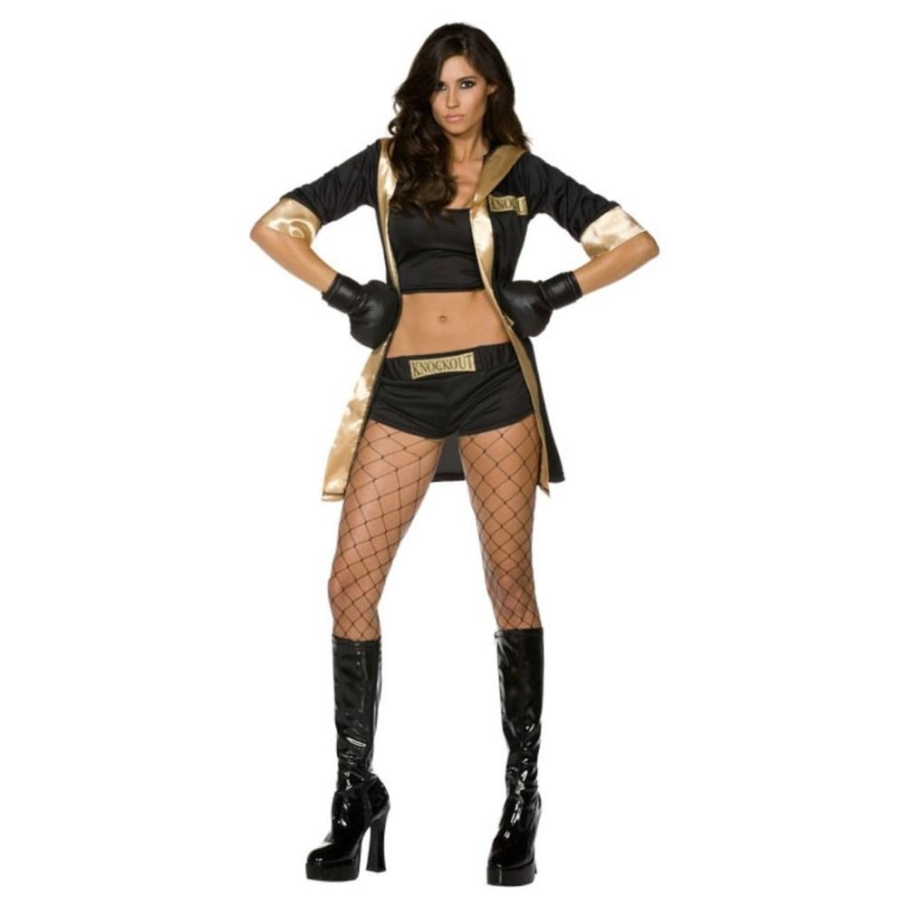 ボクサー 衣装、コスチューム 大人女性用 ノックアウト