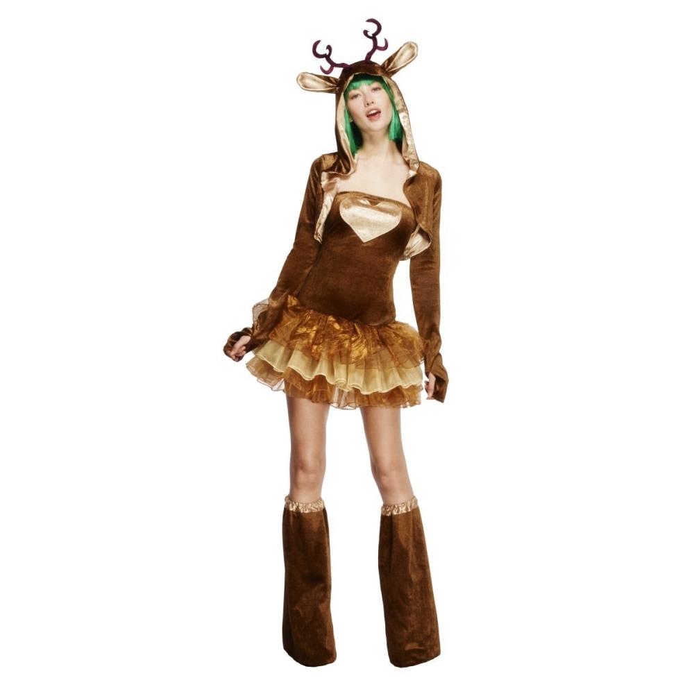 トナカイ コスチューム 大人女性用 クリスマス 仮装