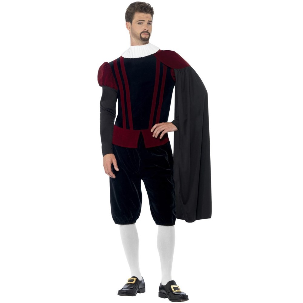 貴族 中世ヨーロッパ 衣装、コスチューム 大人男性用 歴史