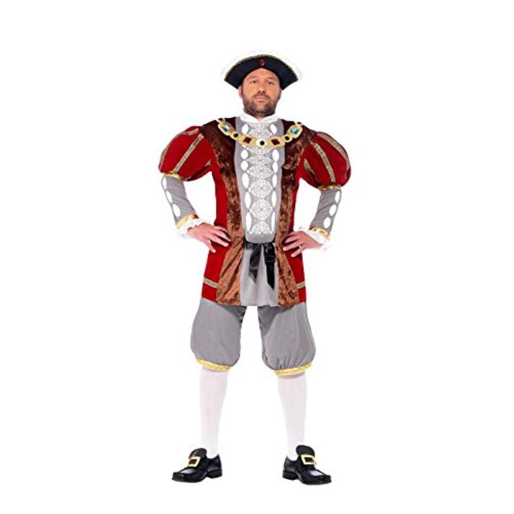 ヘンリー8世 衣装、コスチューム 大人男性用 王様