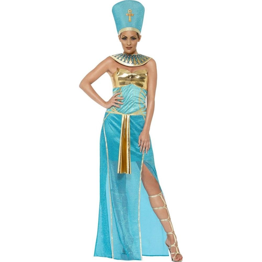 ネフェルティティ 衣装、コスチューム 大人女性用 エジプト