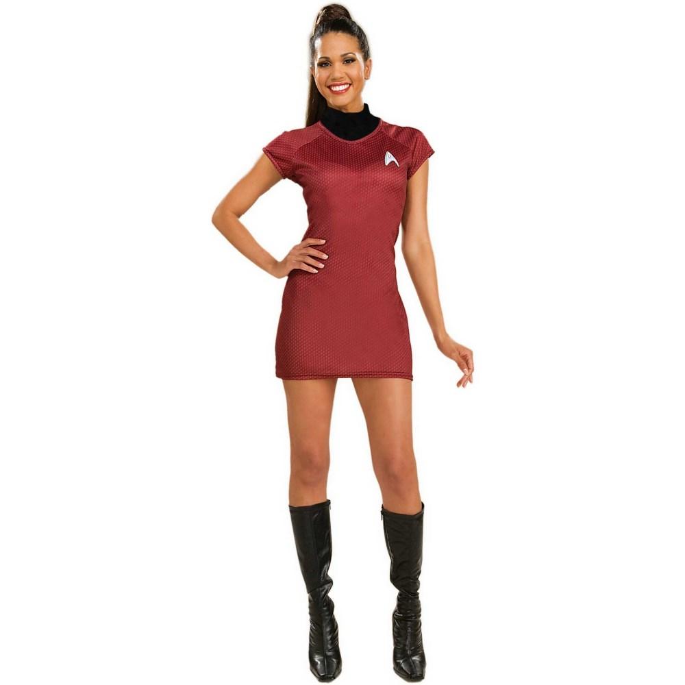 スター・トレック・レッド・ドレス 衣装、コスチューム デラックス 大人女性用
