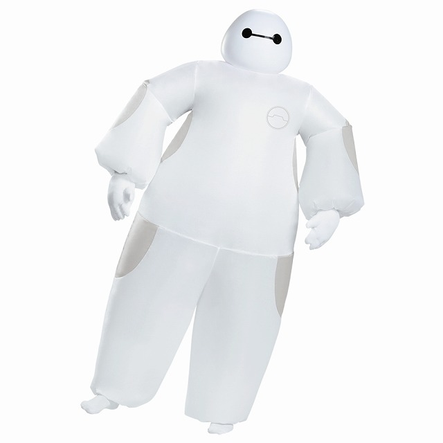 ベイマックス コスプレ衣装、コスチューム 大人男性用 ディズニー ハロウィン仮装