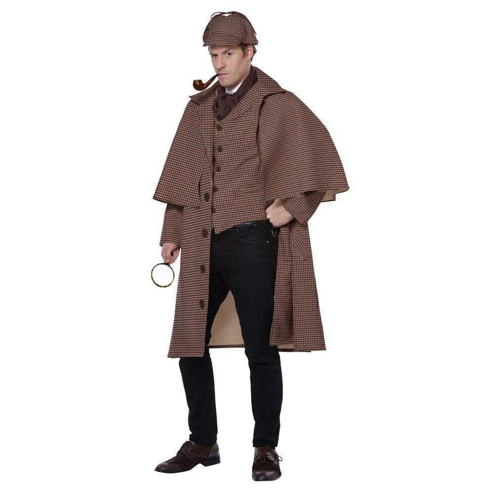 シャーロックホームズ 衣装、コスチューム 大人男性用 探偵 ENGLISH DETECTIVE/SHERLOCK HOL