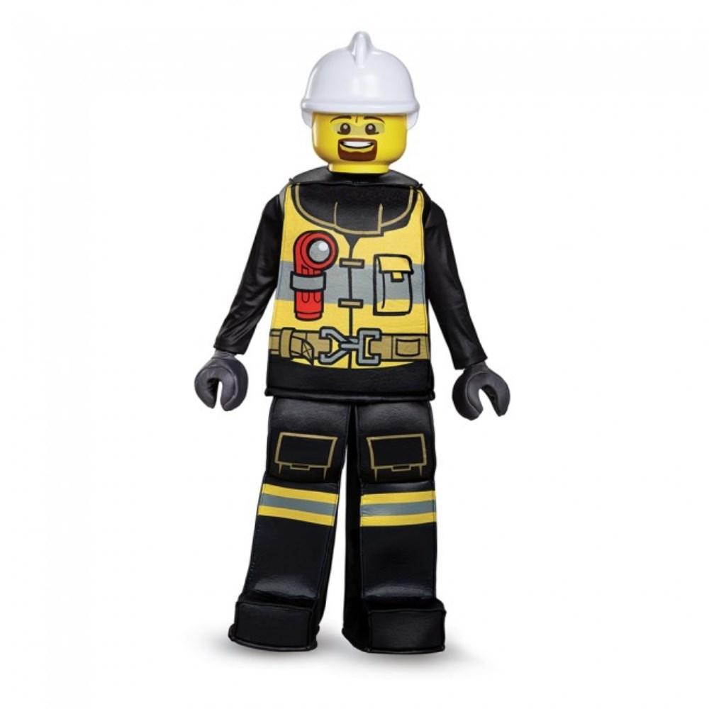 消防士 レゴ プレステージ 衣装、コスチューム 子供男性用 Firefighter Prestige