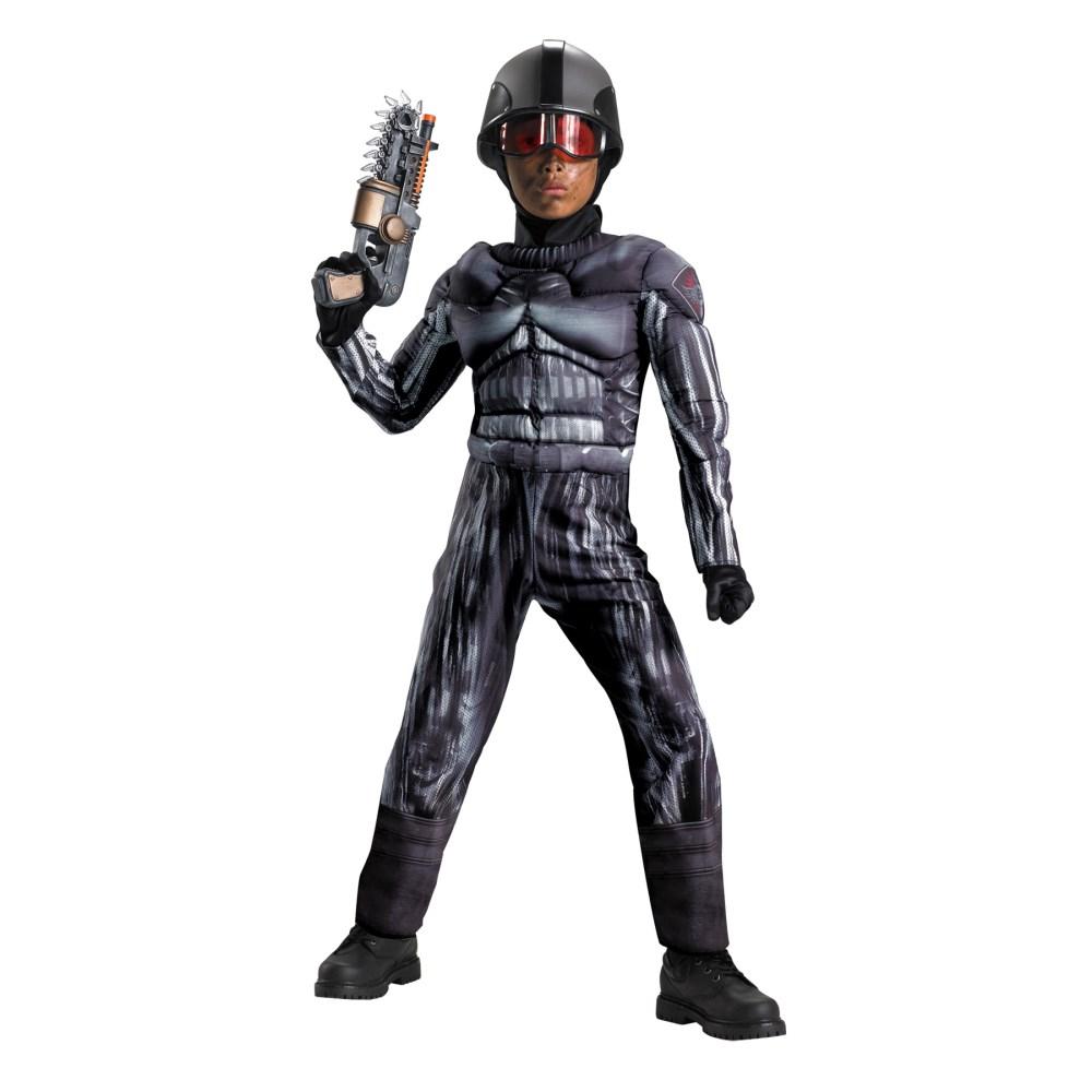 SWAT 特殊部隊 衣装、コスチューム 子供男性用 EXO SWAT CLASSIC MUSCLE コスプレ