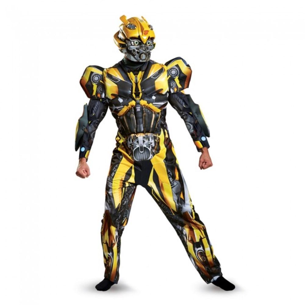 バンブルビー トランスフォーマー 衣装、コスチューム 大人男性用 Bumblebee Deluxe Adult
