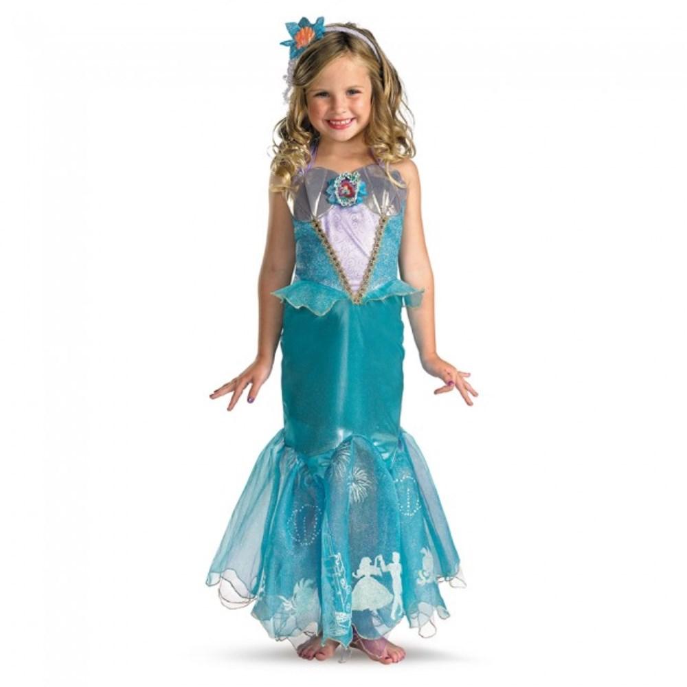 アリエル リトルマーメイド 衣装、コスチューム 子供女性用 Storybook Ariel Prestige