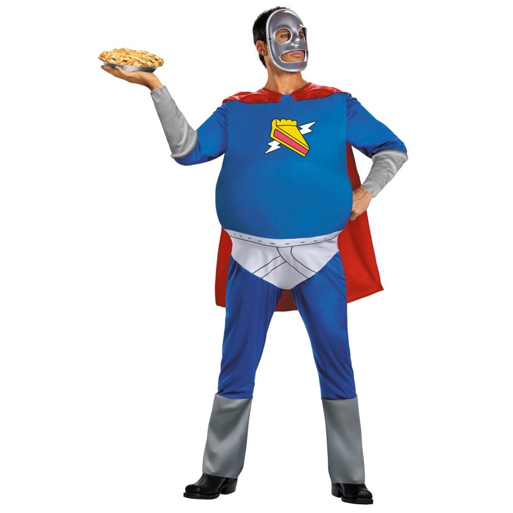ホーマーパイマン ザ・シンプソンズ 大人男性用 衣装、コスチューム コスプレ HOMER PIE-MAN ADULT