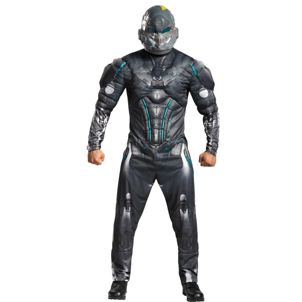 スパルタン・ロック  大人男性用 衣装、コスチューム コスプレ SPARTAN LOCKE MUSCLE AD