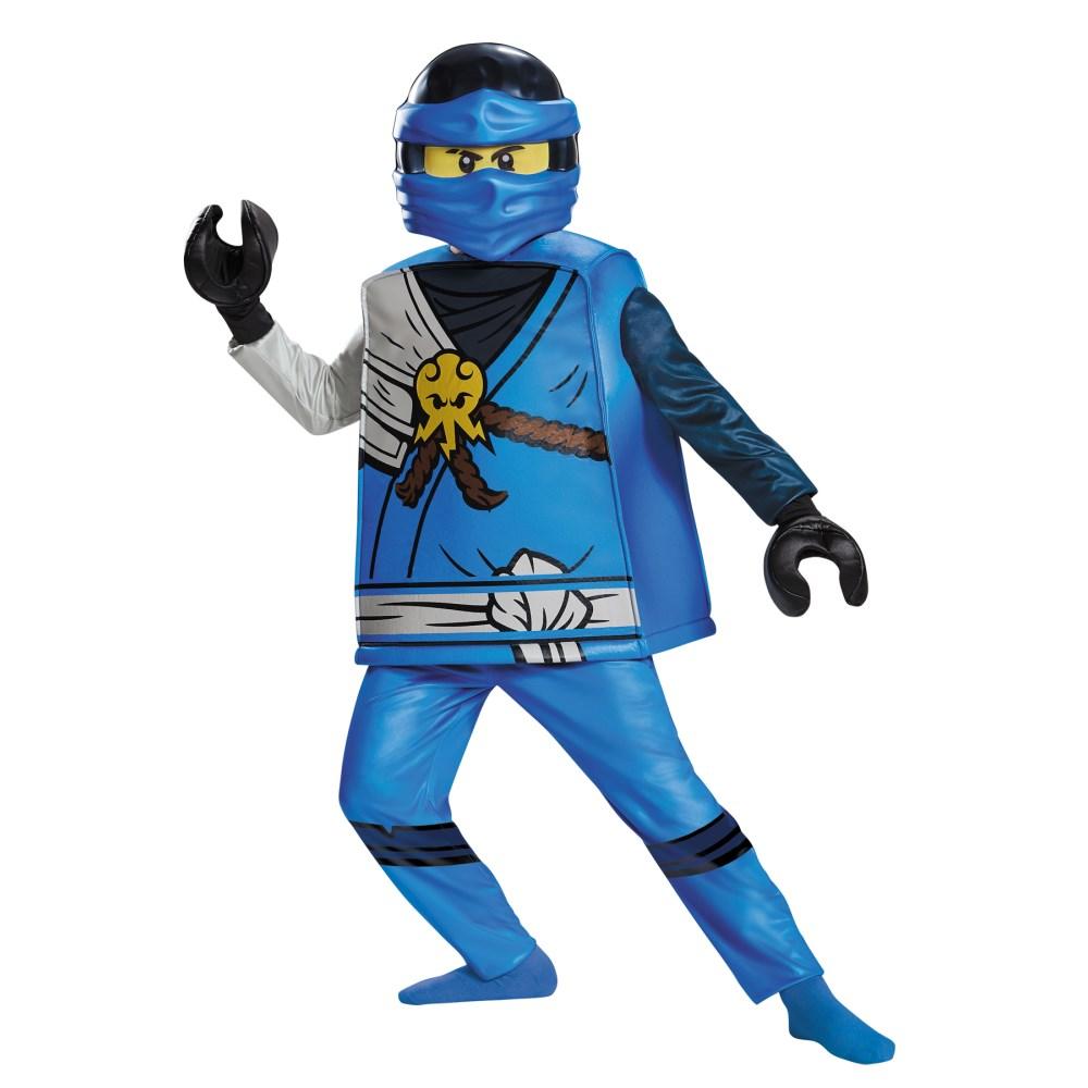ジェイ レゴ ニンジャゴー 衣装、コスチューム 子供男性用 JAY DELUXE CHILD