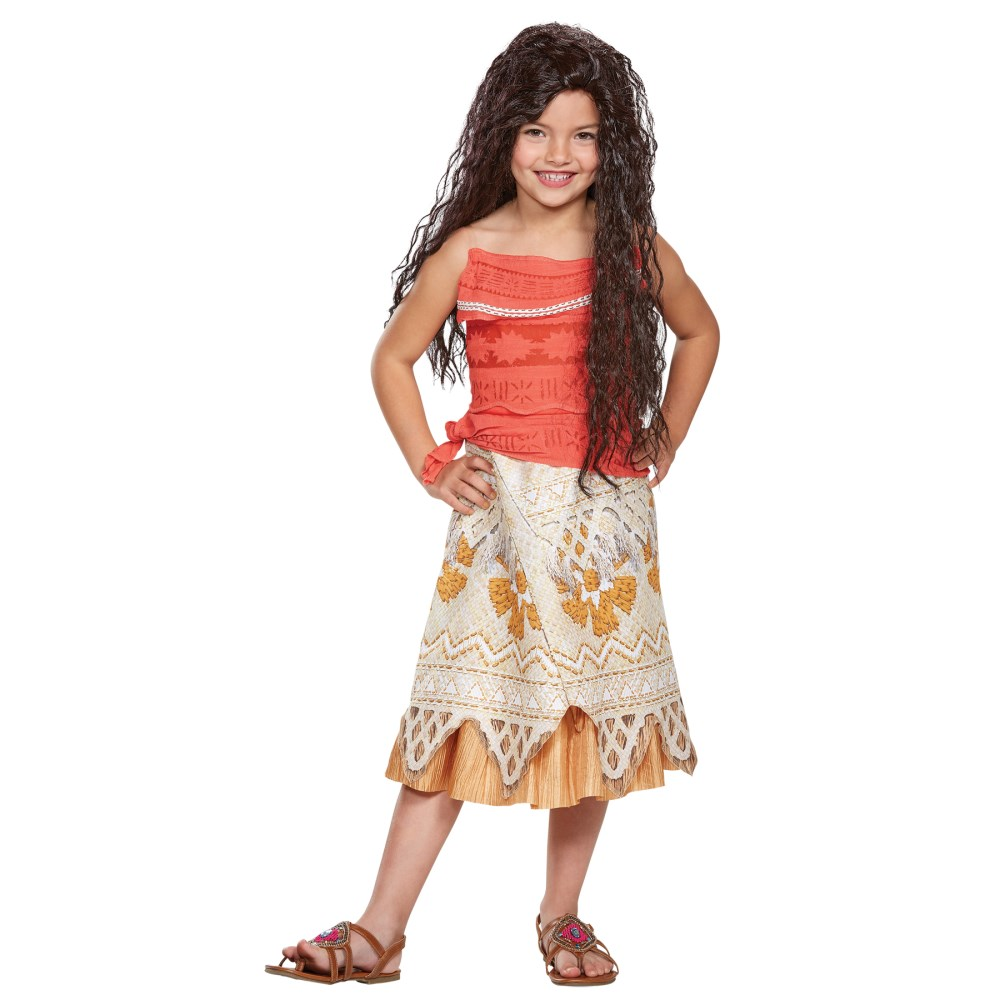 モアナ モアナと伝説の海 衣装、コスチューム 子供女性用 MOANA CLASSIC CHILD コスプレ