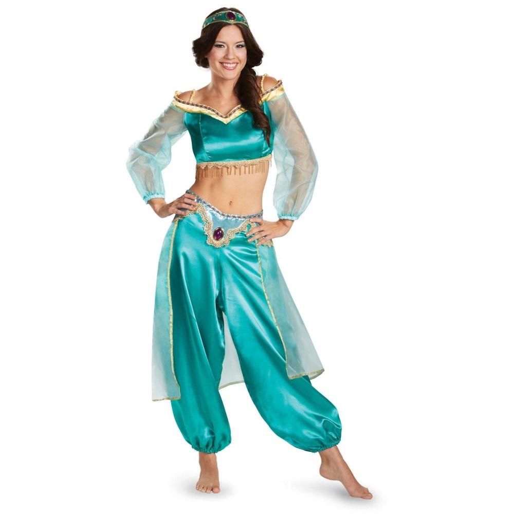 アラジン ジャスミン Sassy Prestige ディズニー 衣装、コスチューム 大人女性用