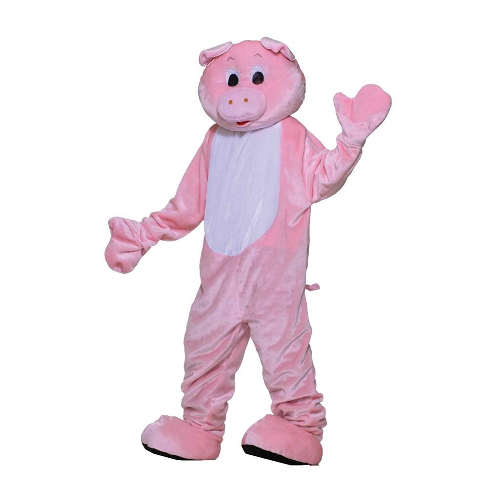 豚 着ぐるみ 衣装、コスチューム 大人男性用 ブタ