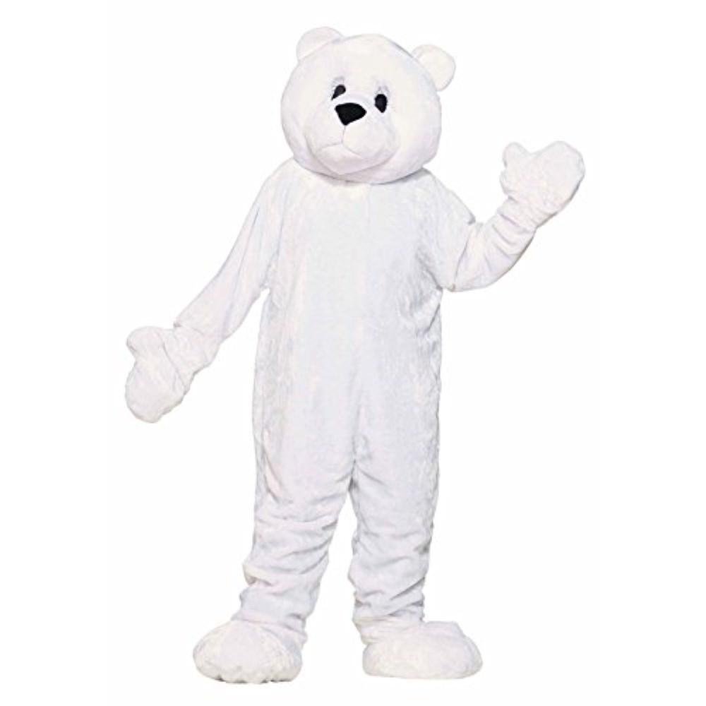 シロクマ 熊 着ぐるみ 衣装、コスチューム 大人男性用
