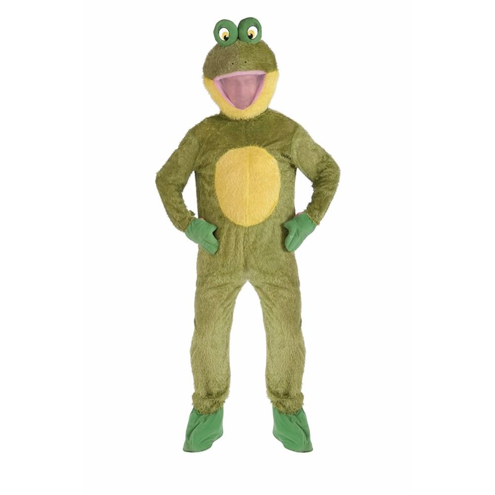 カエル 蛙 衣装、コスチューム 大人男性用 着ぐるみ FROG