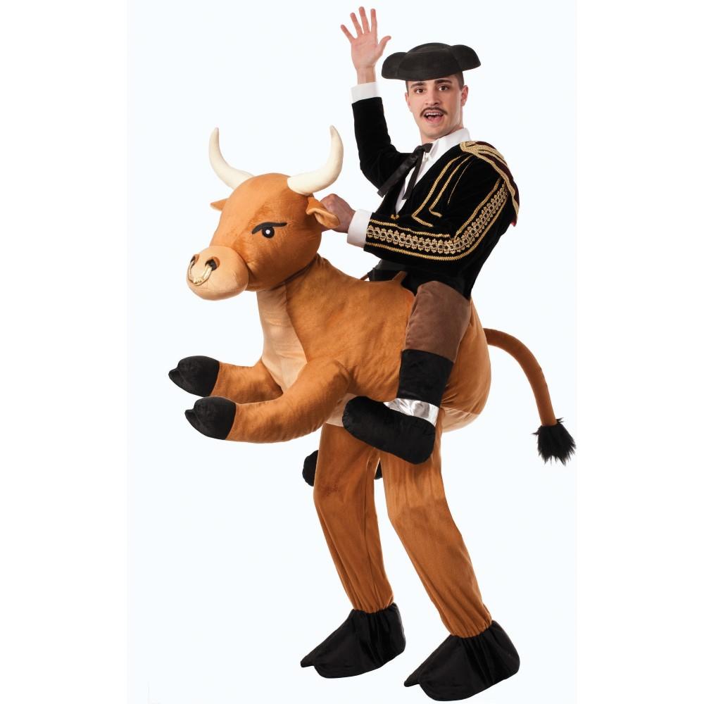 闘牛士 衣装、コスチューム 大人男性用 着ぐるみ Ride a Bull Adult Costume