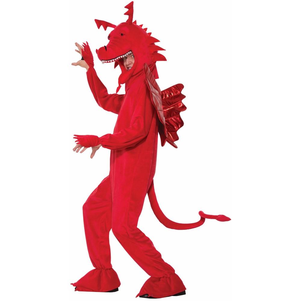 レッドドラゴン 着ぐるみ 衣装、コスチューム 大人男性用