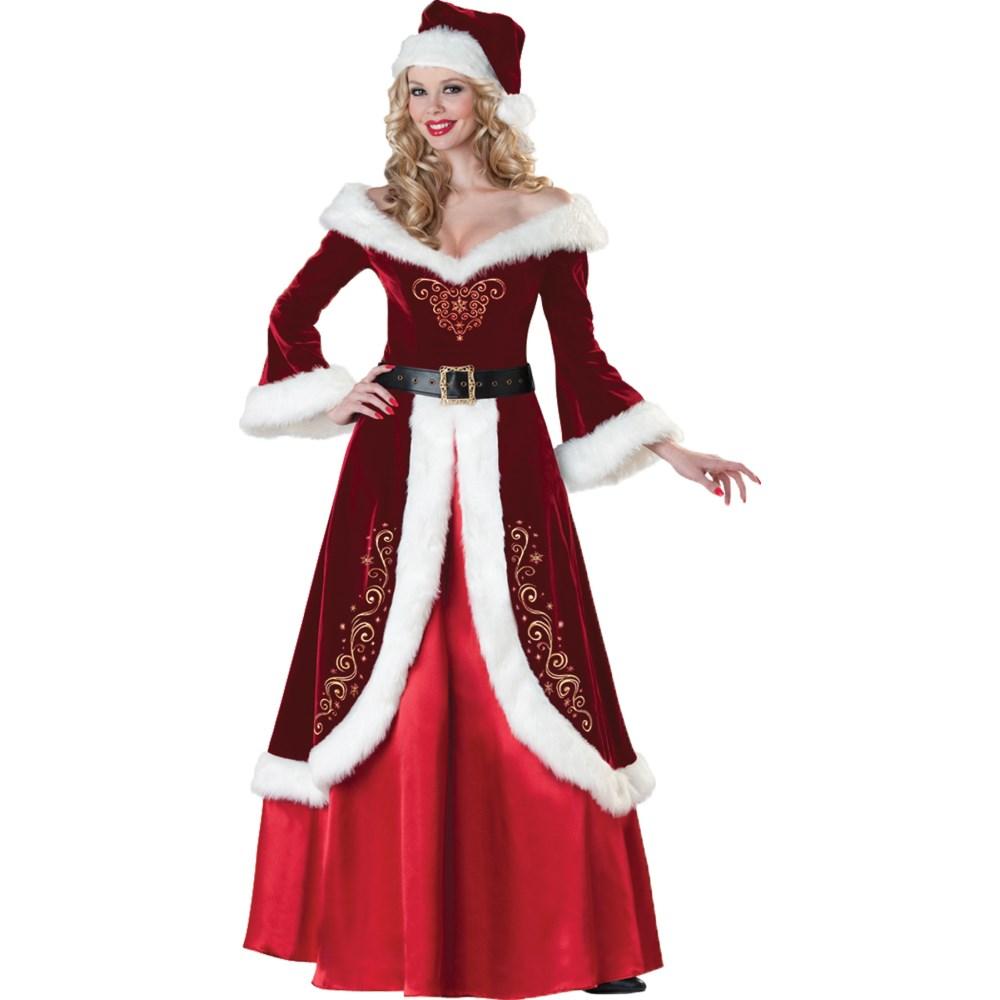 サンタクロース 衣装、コスチューム 大人女性用 MRS ST NICK