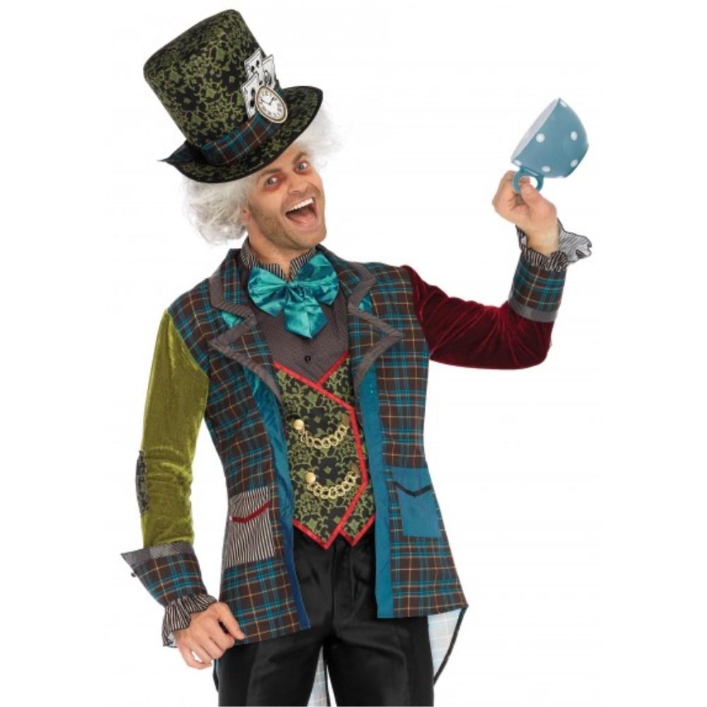 マッドハッター デラックス 衣装、コスチューム 大人男性用 3PC.Deluxe Mad Hatter,includes