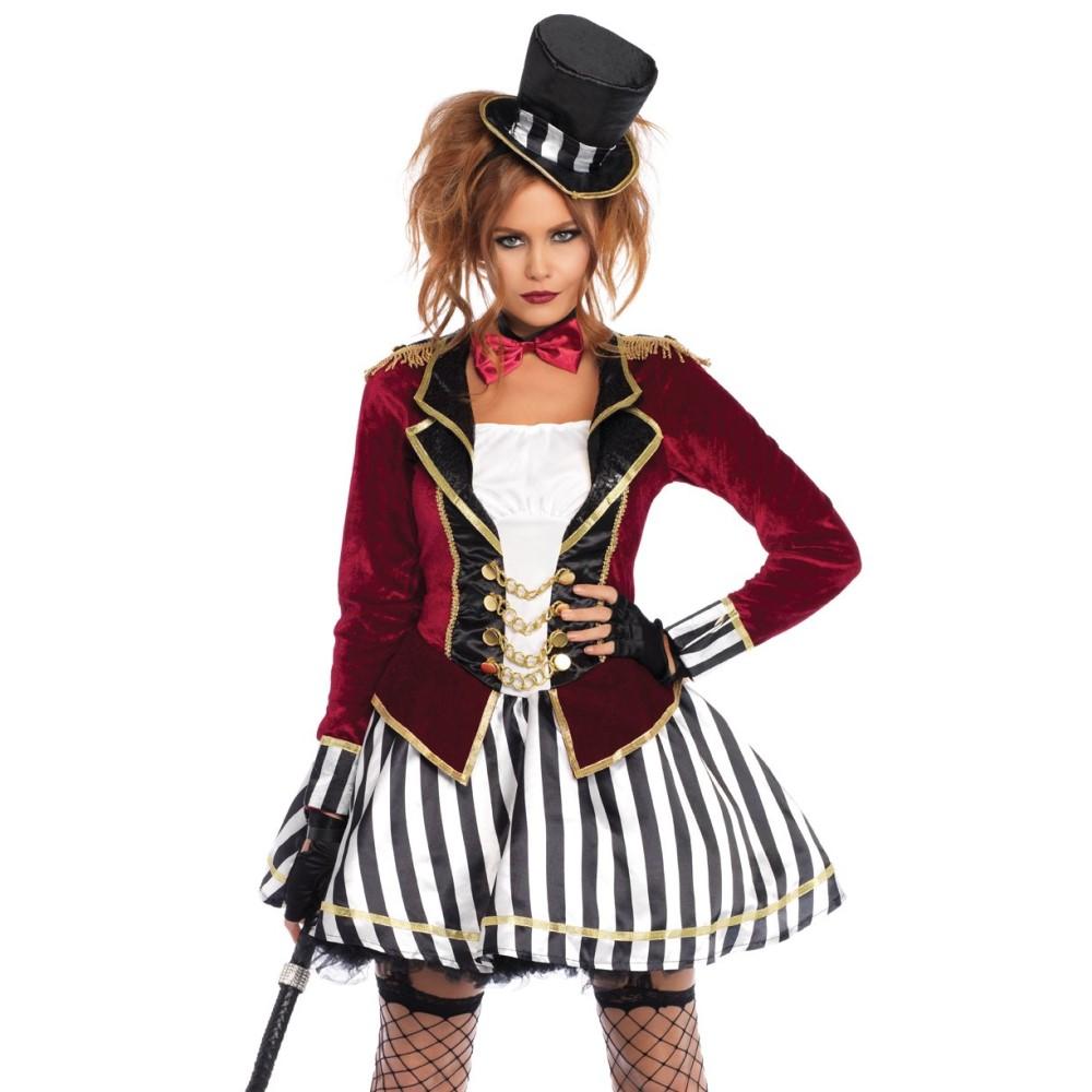 リングマスター 衣装、コスチューム 大人女性用 グレイテスト・ショーマン風 コスプレ