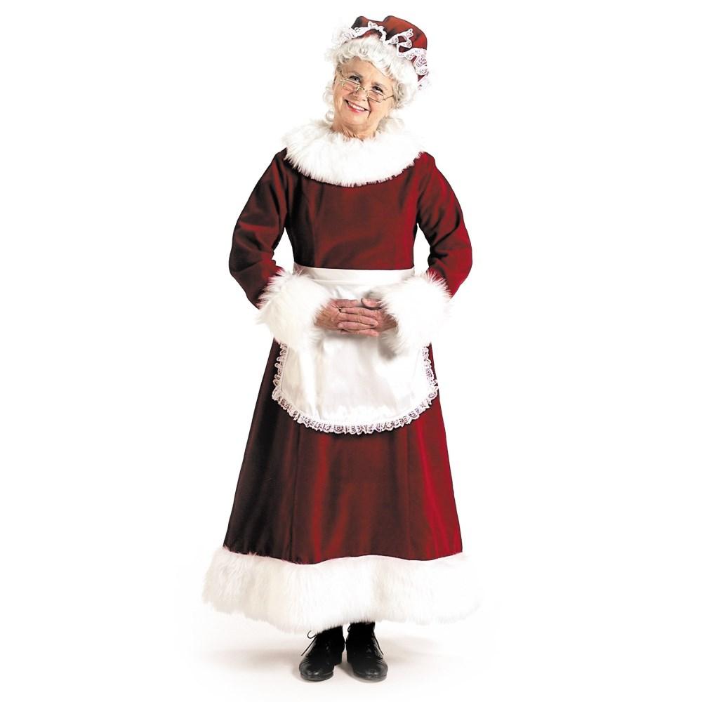 メイド サンタクロース 衣装、コスチューム 大人女性用 クリスマス Mrs. Claus