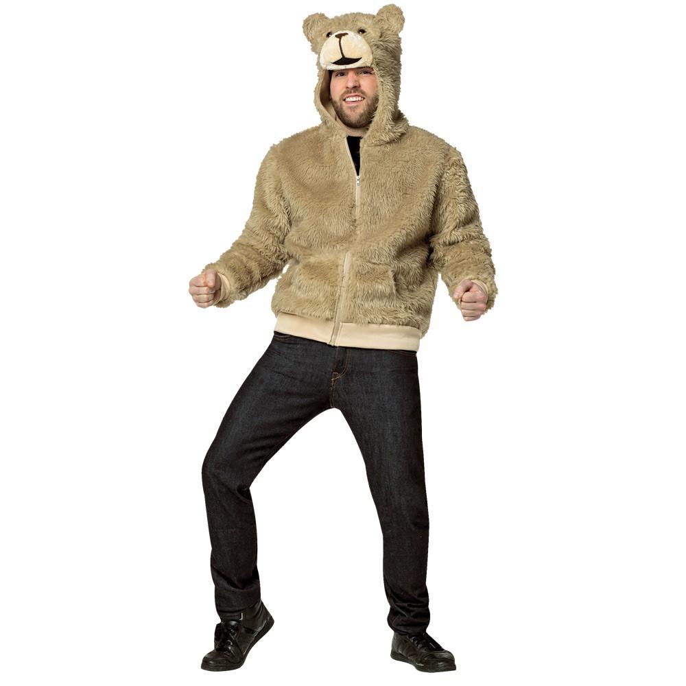 テッド 衣装、コスチューム 大人男性用 クマ TED 2 HOODIE SMALL コスプレ