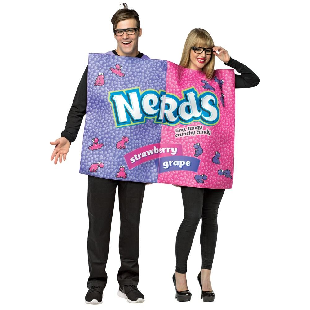 ナードボックス 衣装、コスチューム 大人男性用 NERDS BOX COUPLES COSTUME